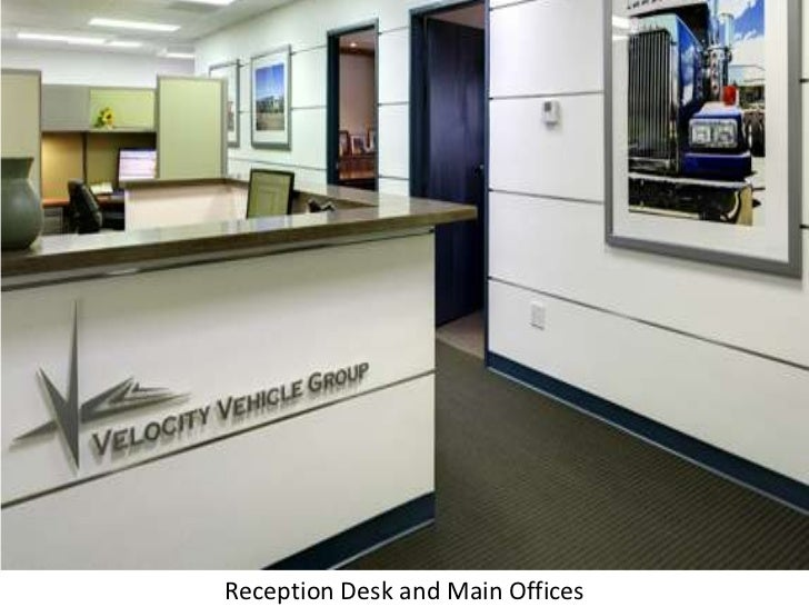 Reception Desk and Main Offices<br />