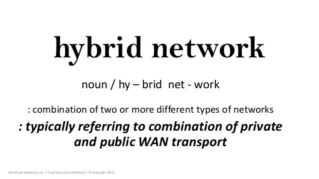 A Better Architecture for Hybrid WAN - VeloCloud Slide 2