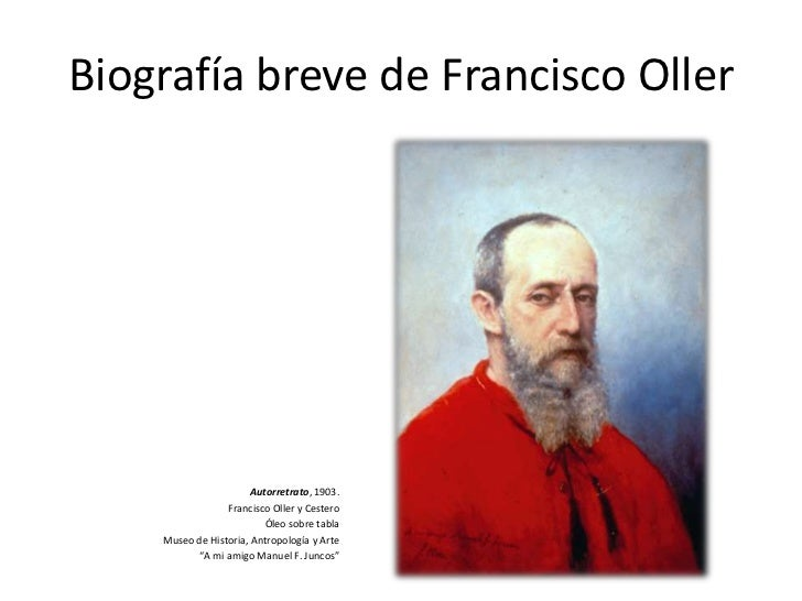 essay about francisco manuel oller Download a free bio of francisco manuel oller at essaysadepts.