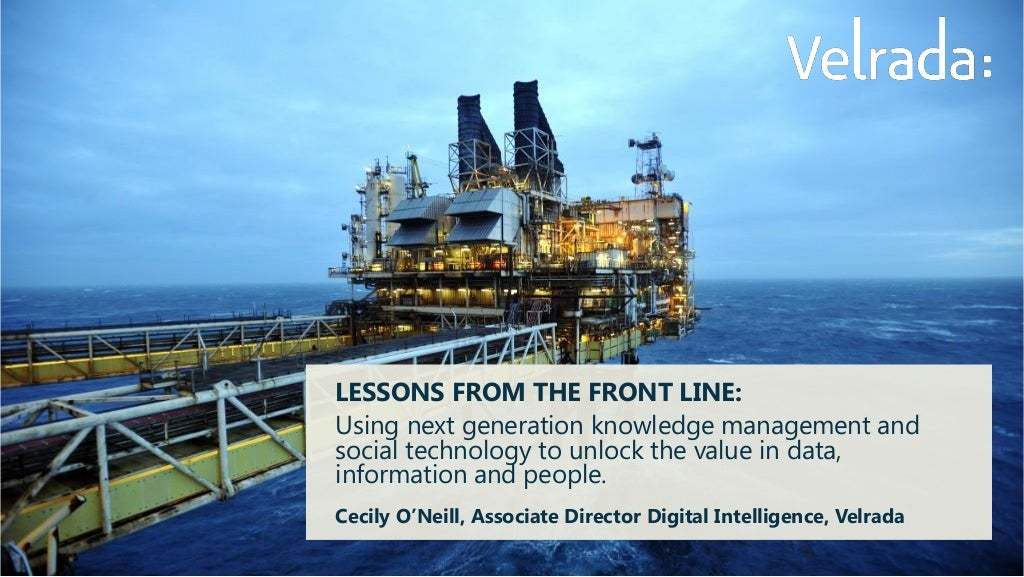Lessons from the front line: next-generation knowledge management in the resources industry.