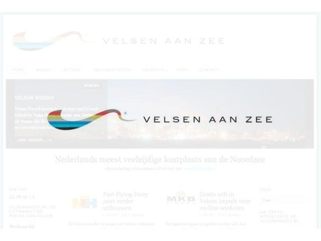 Velsen aan Zee: 'helpt U mee?'aandachtspunten bij een 'plan-in-voorbereiding'presentatie en brainstorm6 maart 2013 - Velse...