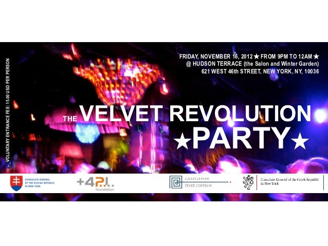 FRIDAY, NOVEMBER 16, 2012 ★ FROM 9PM TO 12AM ★VOLUNTARY ENTRANCE FEE: 15.00 USD PER PERSON                                ...