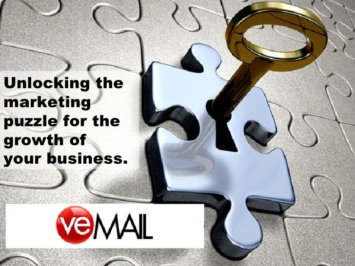 Unlocking the marketing puzzle for the growth of  your business.