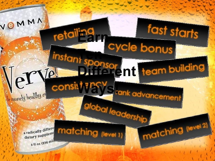 vemma energy drink business plan