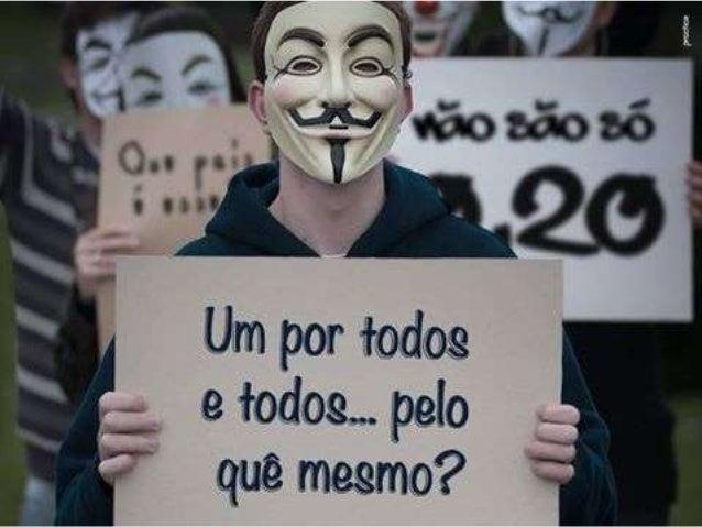 Proposta: apresentar algumas inquietações acerca dos últimos acontecimentos verificados no Brasil