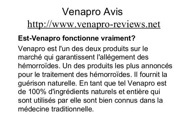 Venapro Avis http://www.venapro-reviews.net Est-Venapro fonctionne vraiment? Venapro est l'un des deux produits sur le mar...