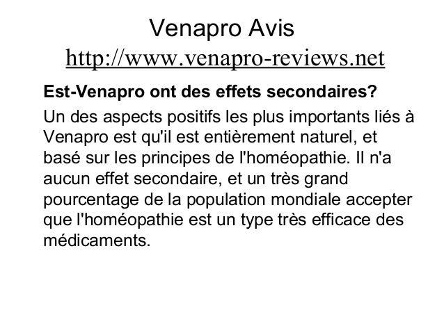 Venapro Avis http://www.venapro-reviews.net Est-Venapro ont des effets secondaires? Un des aspects positifs les plus impor...