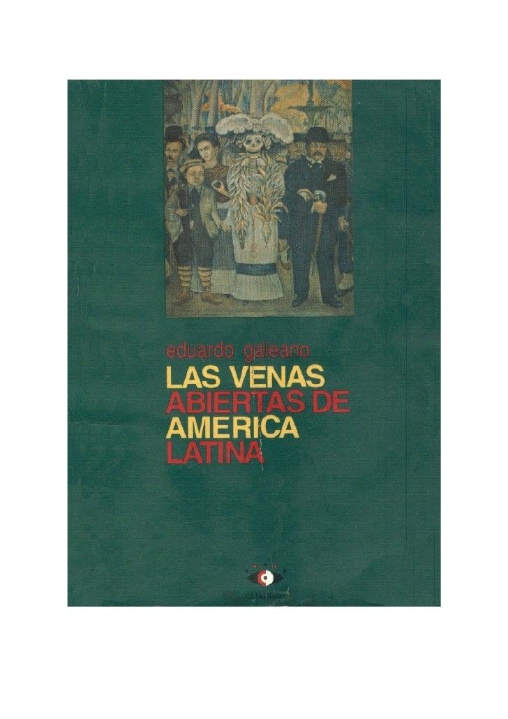 Laa Venas abiertas de america latina