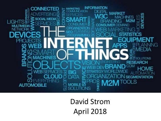 David Strom April 2018