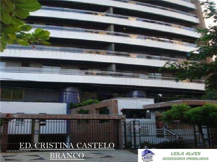 ED. CRISTINA CASTELO BRANCO<br />