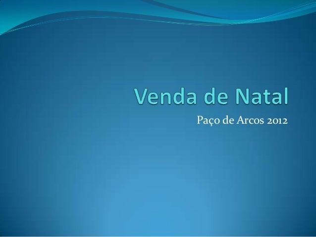 Paço de Arcos 2012