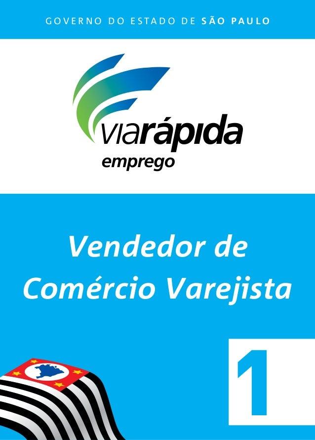bf393fb5a Vendedor de Comércio Varejista - Apostila 1