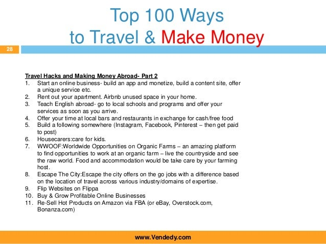 2016 Vendedy Annual Global Travel Conference 100 Ways To Travel The