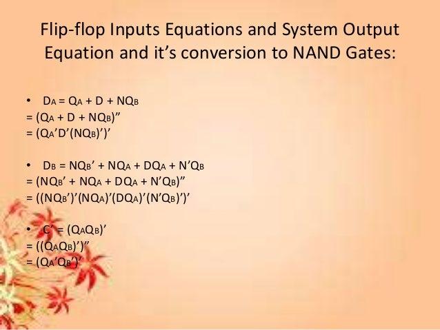 vending machine logic circuit diagram using nand gates and two flip flops