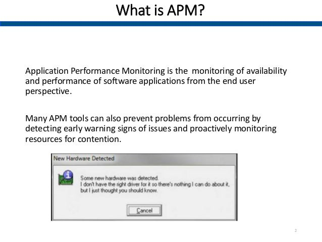 Vendor Analysis Template. 1. Application Performance Monitoring (APM)  Summary Notes; 2.