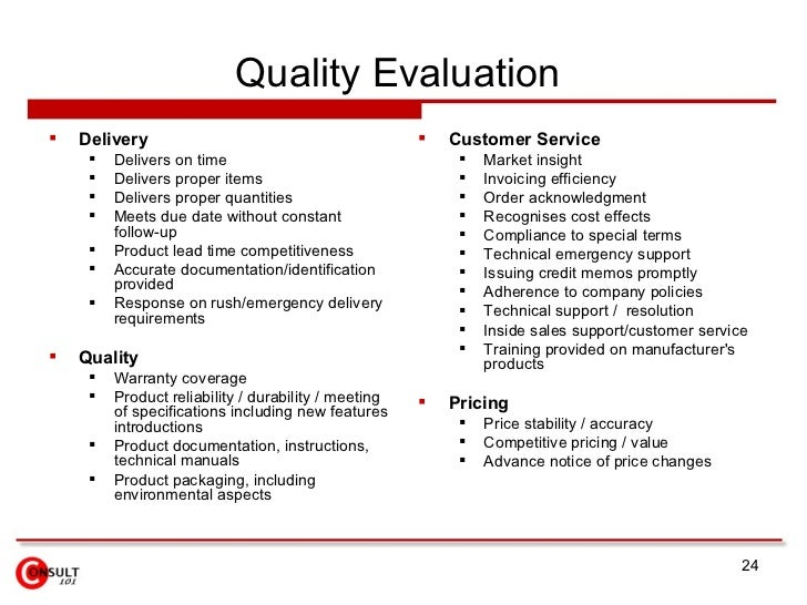 Sample Vendor Evaluation Crm Vendor Evaluation Matrix Invoicing