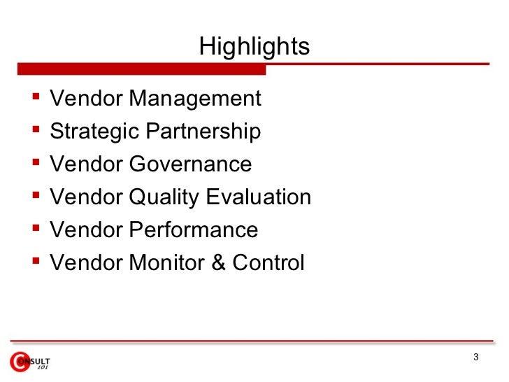 Vendor Management Slide 3