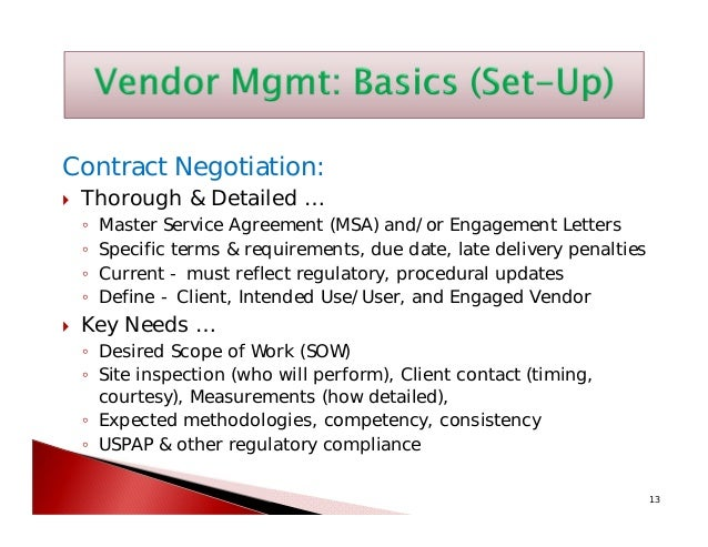 Vendor Management How Well Are You Managing Your Consultants And App