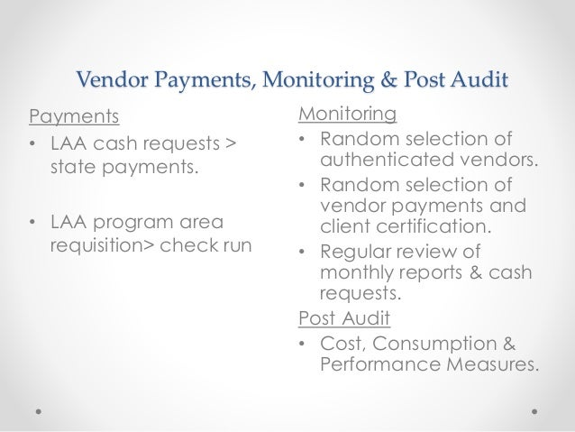 Three Essential Steps in Auditing the Vendor Master File
