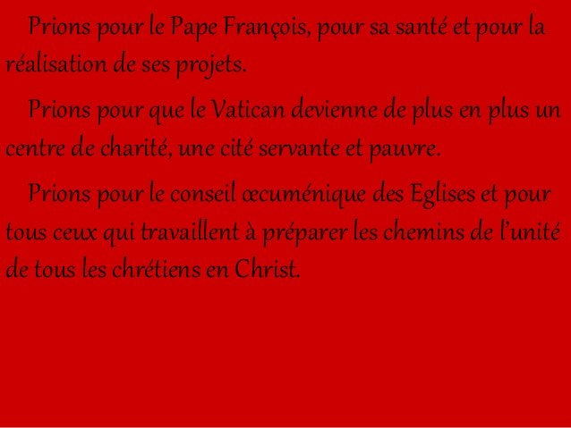 Prions pour ceux qui persécutent les croyants, par dépit, par haine, ou en croyant rendre un culte à Dieu en menant des gu...