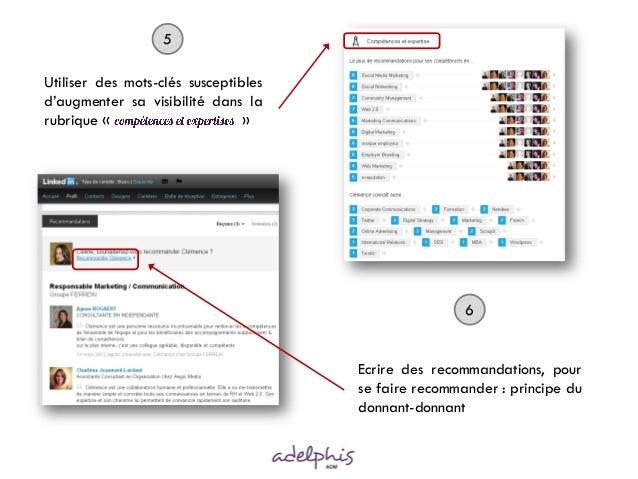 Vendre'tips   améliorer son profil linkedIn - mars 2013 Slide 3