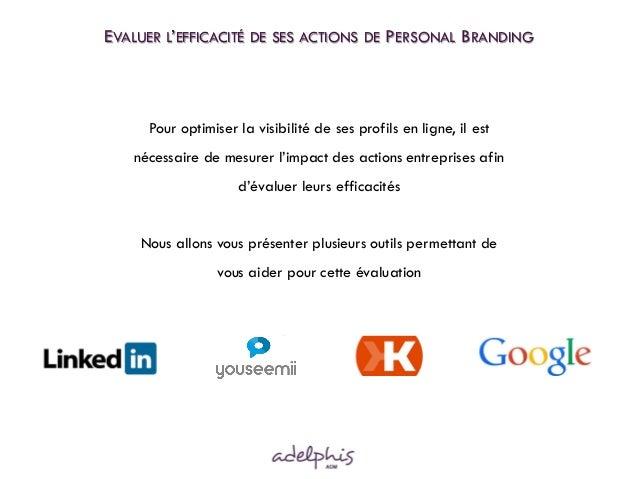Pour optimiser la visibilité de ses profils en ligne, il est nécessaire de mesurer l'impact des actions entreprises afin d...
