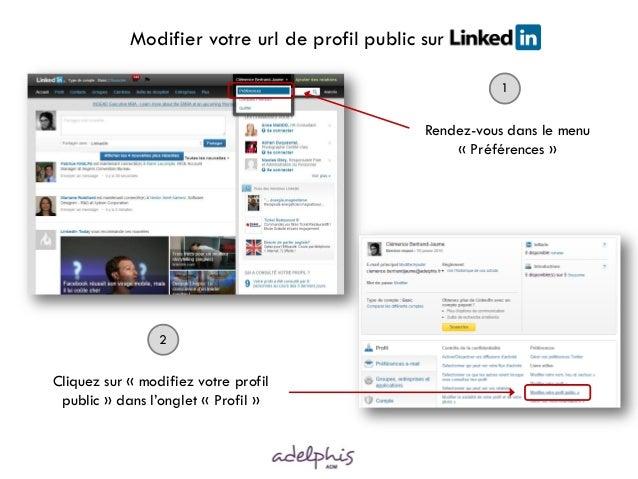 Modifier votre url de profil public sur LinkedI                                                           1               ...