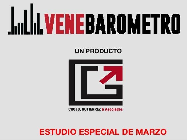 MARZO 2014 UN PRODUCTO ESTUDIO ESPECIAL DE MARZO