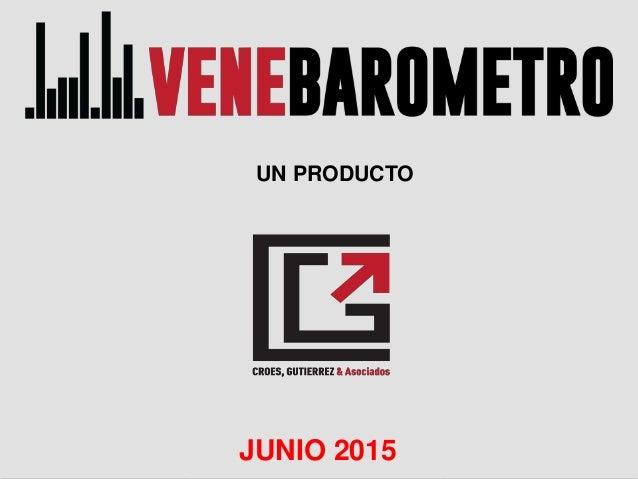 JUNIO 2015 UN PRODUCTO JUNIO 2015