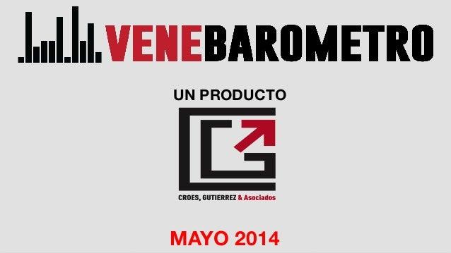 MAYO 2014 UN PRODUCTO MAYO 2014