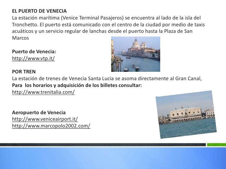 Venecia - Marco aldany puerto venecia ...