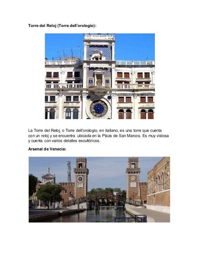 """Resultado de imagen para torre san marcos venecia"""""""