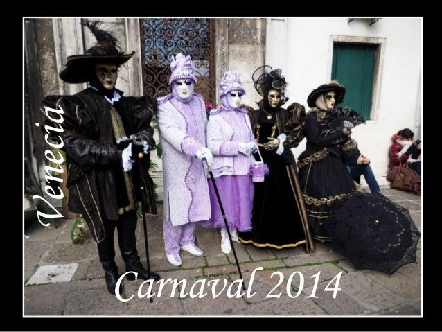Venecia Carnaval 2014