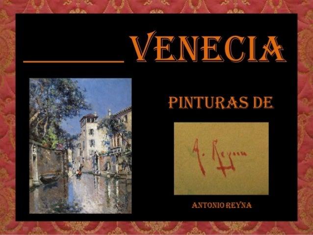 Venecia-pinturas-de-antonio-reyna