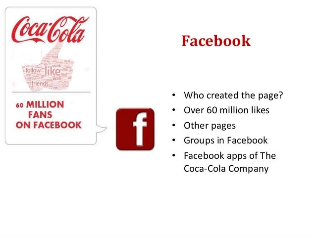 Twitter• The Coca-Cola Company in  Twitter• Profiles• Tweets• Publications• The second promoted tweet  in the history of T...