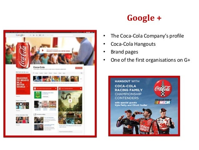 • The Coca-Cola Company in  Flickr• Group – 6808 members                                 Flickr• Photos and images : + 24 ...