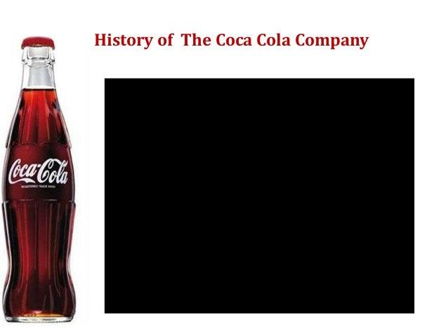 History of The Coca Cola Company