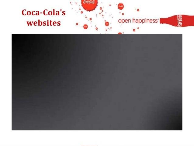 Coca-Cola's websites