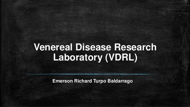 Venereal Disease Research Laboratory (VDRL) Emerson Richard Turpo Baldarrago