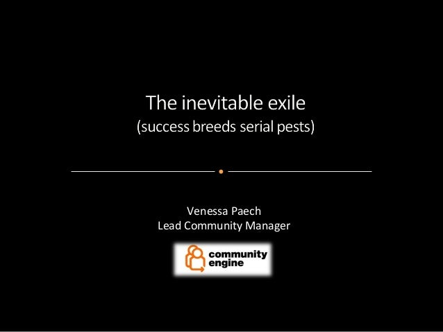 Venessa Paech Lead Community Manager