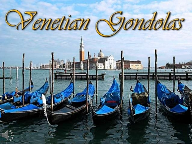 Venetian gondolas (v.m.)