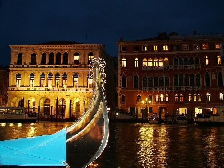 Venezia di notte Slide 3