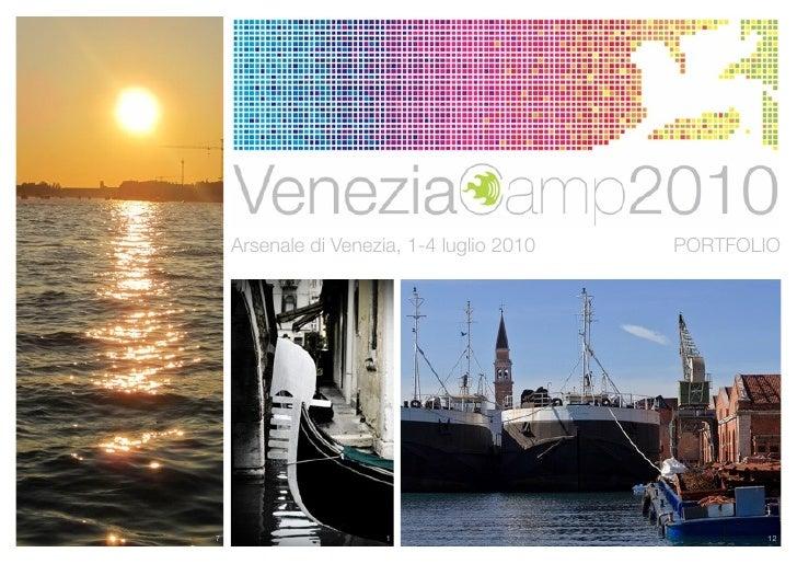 Arsenale di Venezia, 1-4 luglio 2010   PORTFOLIO     7                     1                           12