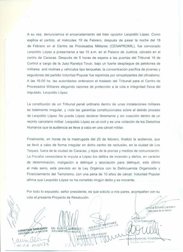 Venezuela amnistia internacional Slide 3