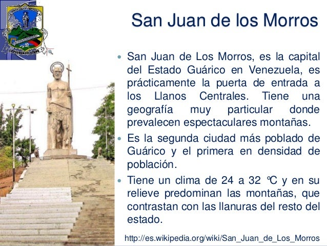 san juan de los morros girls Things to do in san juan de los morros, venezuela: see tripadvisor's 1,093 traveler reviews and photos of san juan de los morros tourist attractions find what to do today, this weekend, or in august.