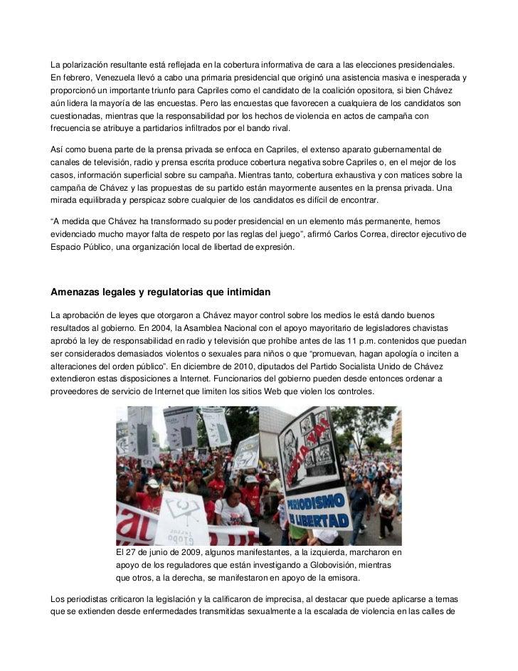 La polarización resultante está reflejada en la cobertura informativa de cara a las elecciones presidenciales.En febrero, ...