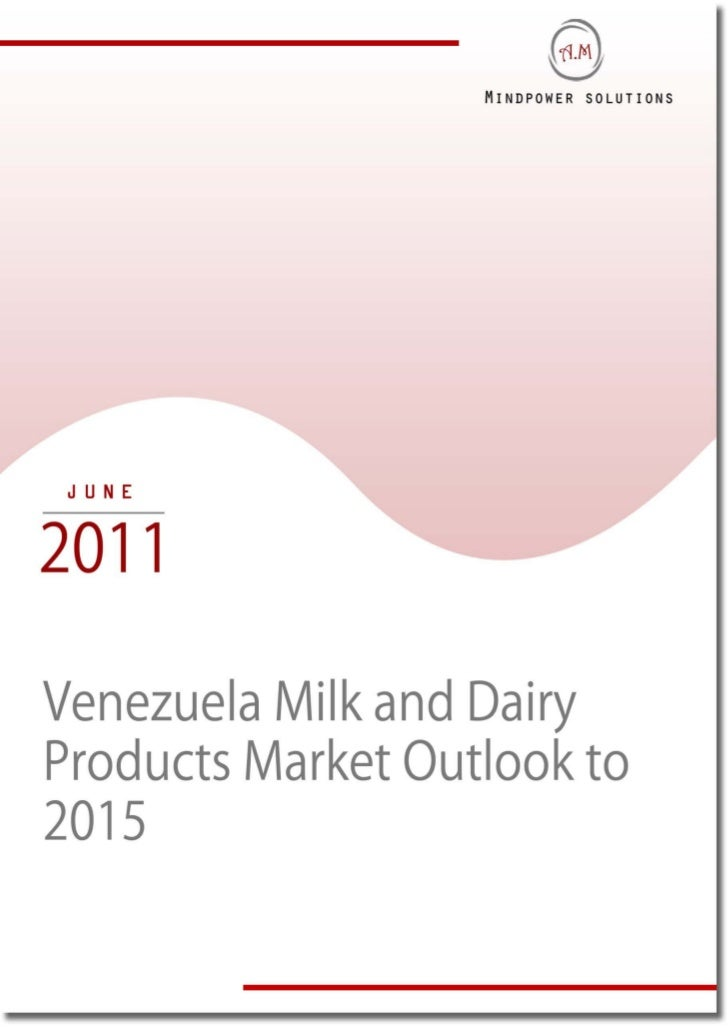 """EXECUTIVE SUMMARYThe Report titled """"Venezuela Milk and Dairy Products Market Outlook to 2015"""" provides a comprehensiveanal..."""