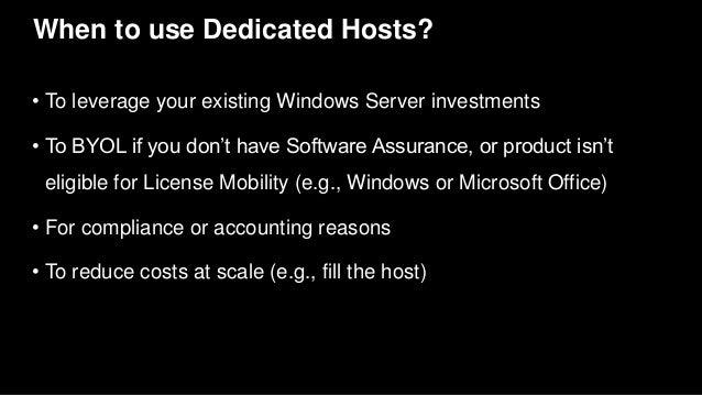 Dedicated server ec2 t