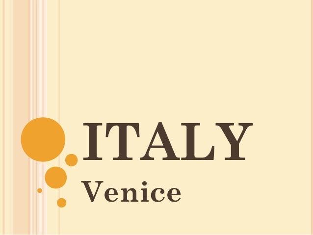 ITALYVenice