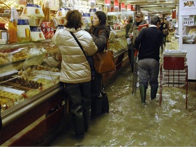 Venise sous les eaux